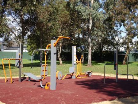 Avenue Road Reserve Fitness Equipment