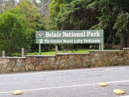 Belair National Park Entrance