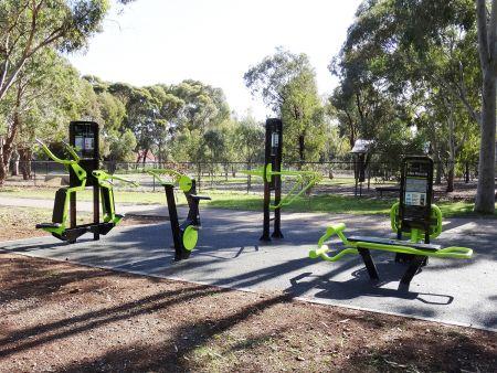 CC Hood Reserve Fitness Equipment