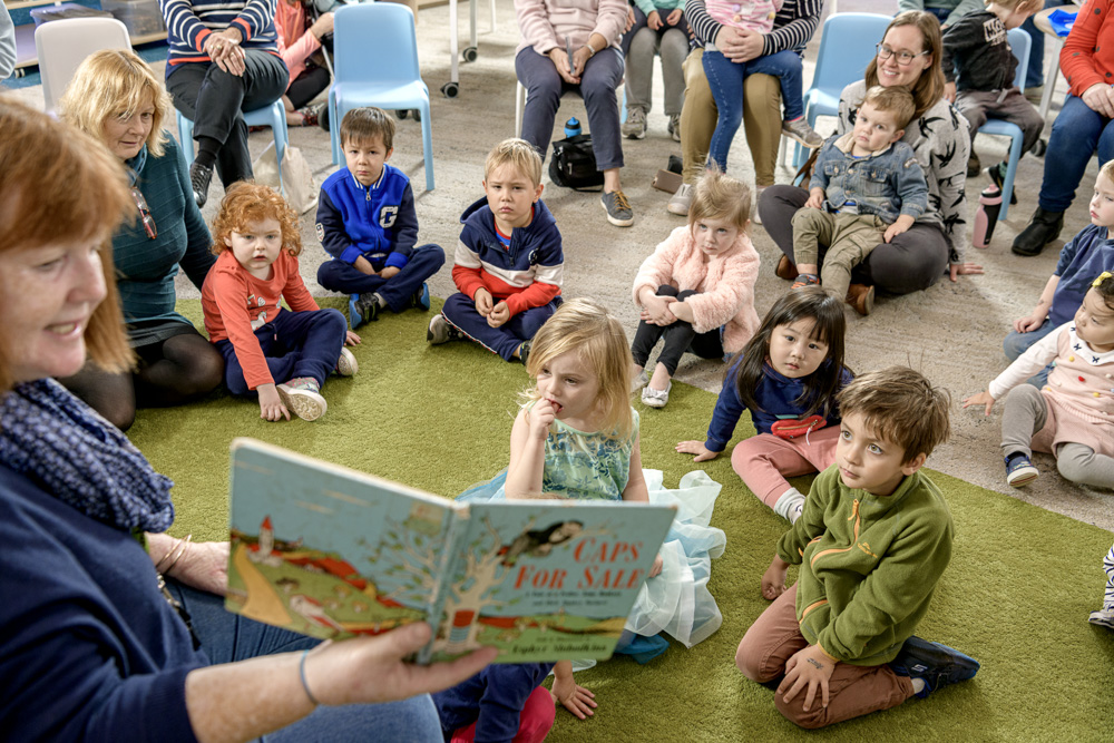 Story time for preschoolers