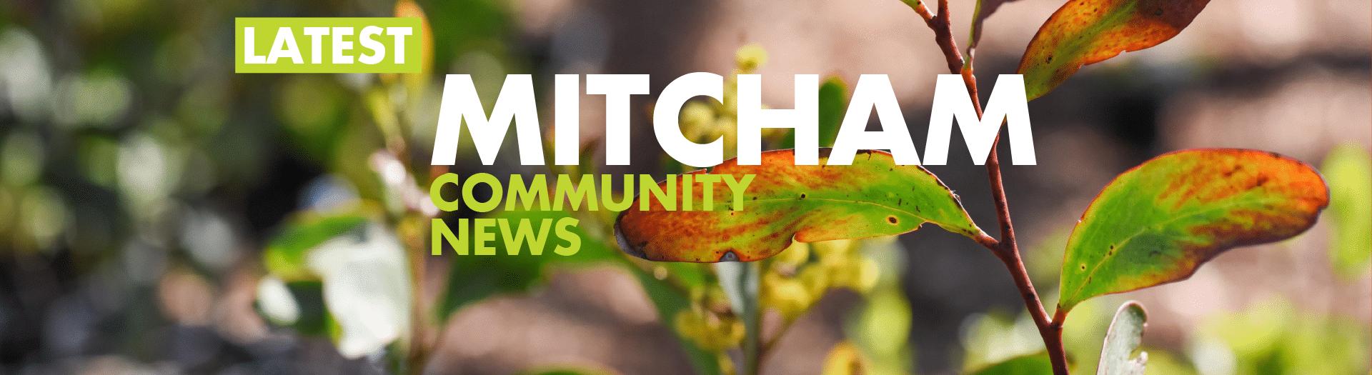 Latest Mitcham Community News Scrolling Banner