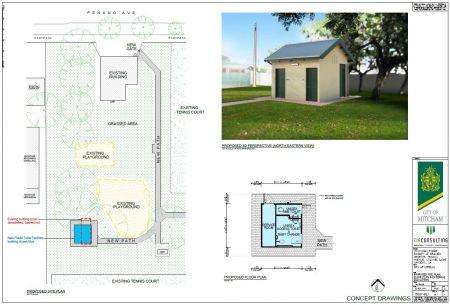 Hillview Reserve Toilet Concept Plans