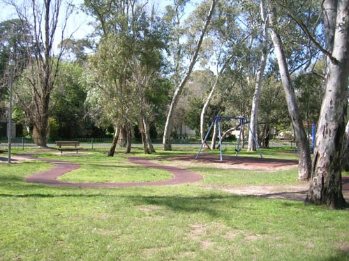 Hawthorndene Oval and Apex Park Toddler Bike Path